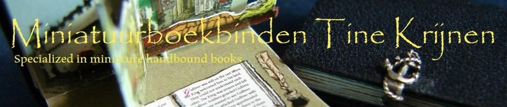 Miniatuurboekbinden Tine Krijnen